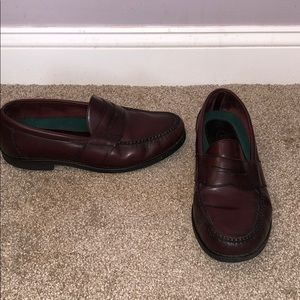 Rockport maroon loafers